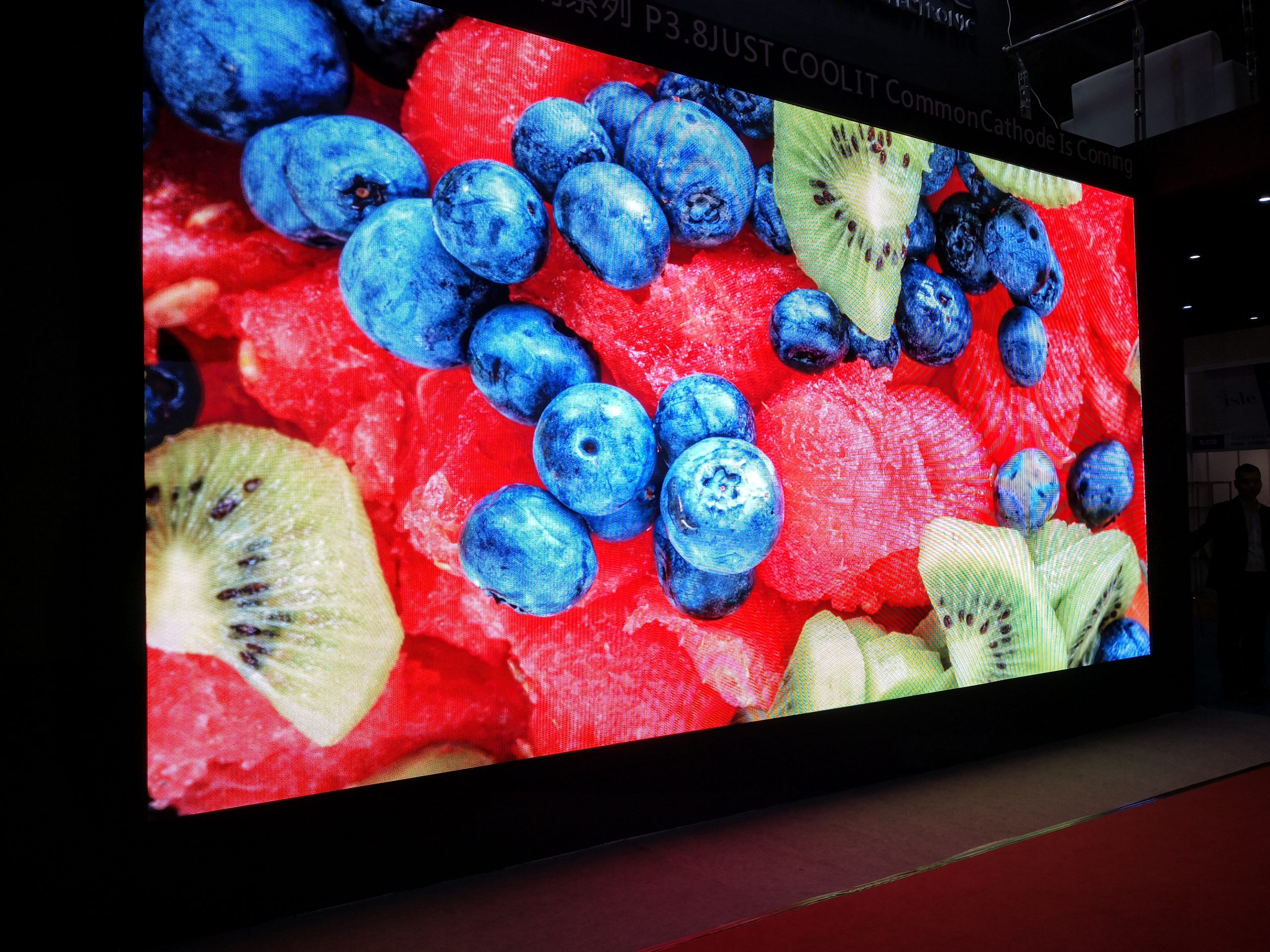 What is the visual Angle of LED display?