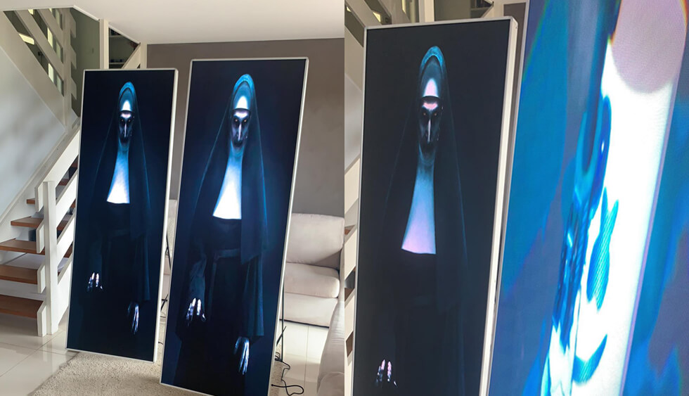 Indoor Advertising LED Poster