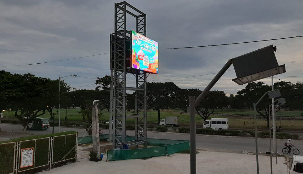 Outdoor Fixed LED Display P10
