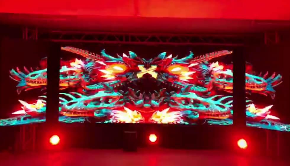 P3.91 Indoor 3D LED Display