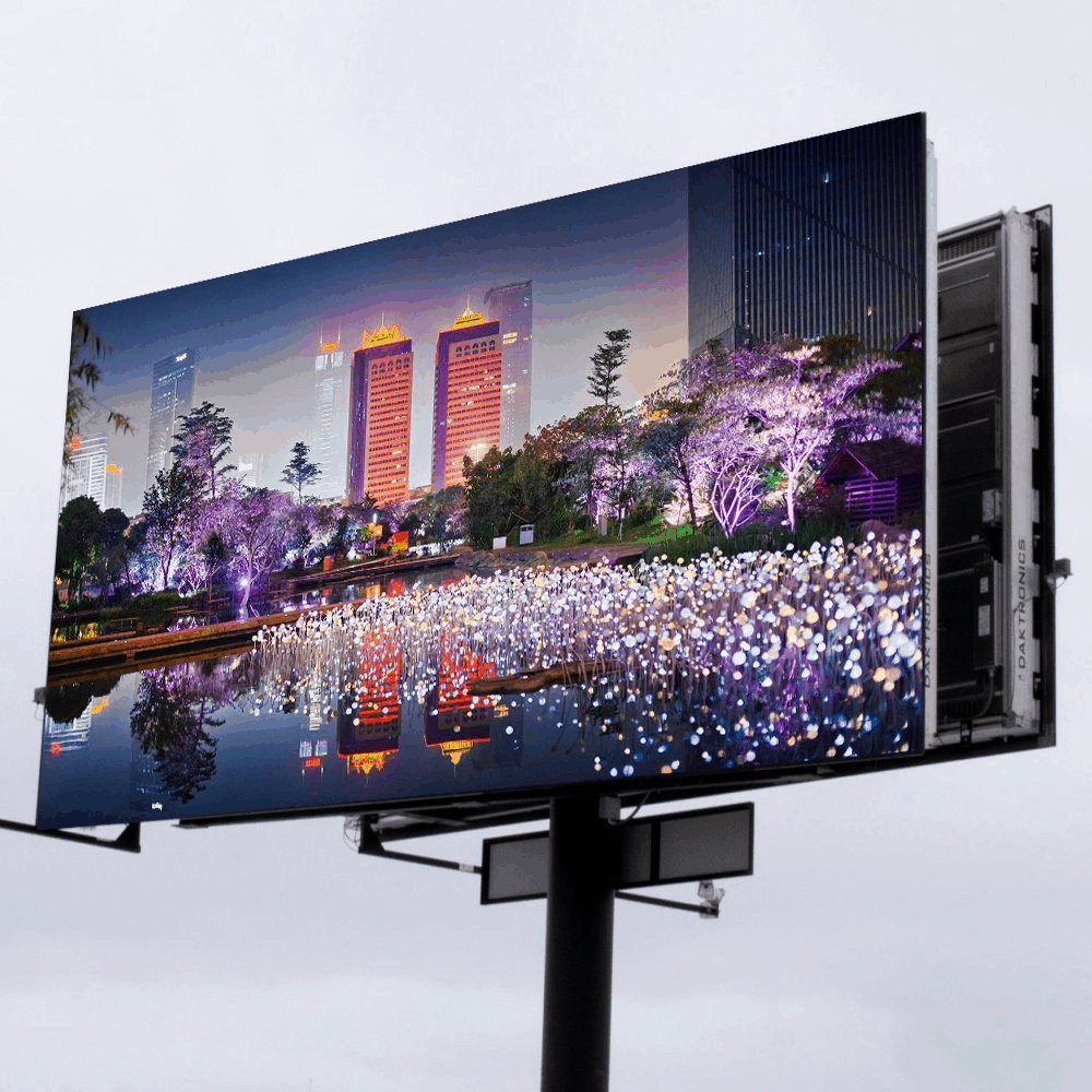 How can we use Led display p10 outdoor to speedup potential sales?