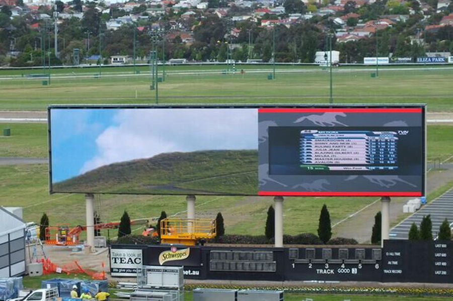 Pakistan 100 square P8 outdoor LED display